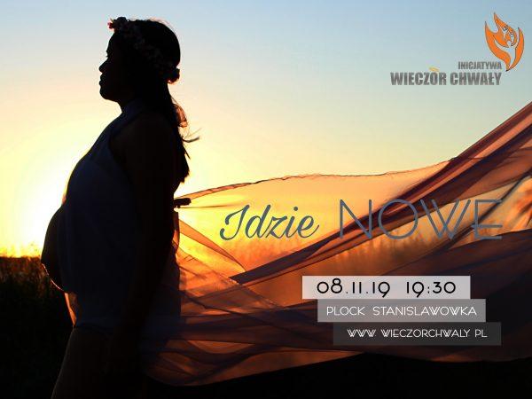"""Inicjatywa Wieczór Chwały """"Idzie nowe"""" – 8 listopada"""